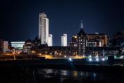 Albany-at-night