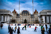 Ice-skating-at-the-Empire-State-plaza