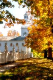 Autumn in Old Bennington Vermont