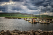 Boats-docked-in-Dingle